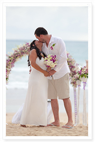 a beach wedding phuket