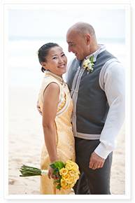 beach wedding reception packages