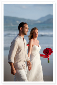 phuket beach wedding