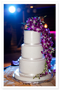simple wedding cake pictures