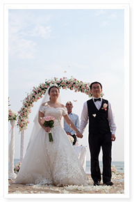 simple wedding idea at phuket