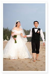 phuket simple romantic wedding