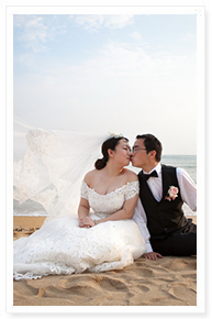 phuket small budget beach wedding