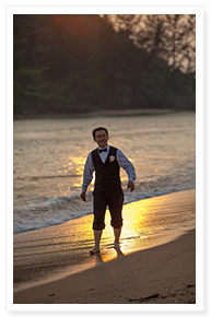 phuket beach wedding renewal