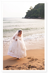 beach wedding renewal phuket