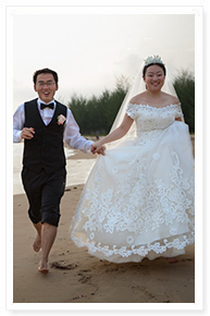 phuket simple beach wedding