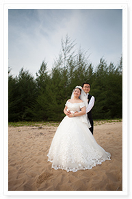 phuket simple beach wedding idea