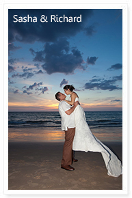 simple small beach wedding phuket